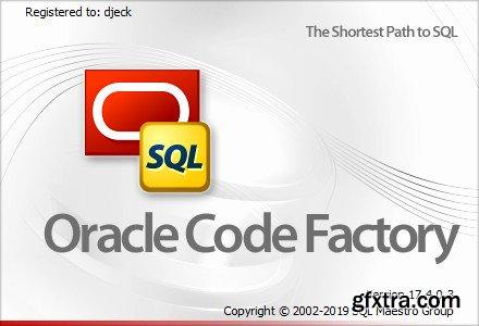 SQLMaestro Oracle Code Factory 17.4.0.3 Multilingual