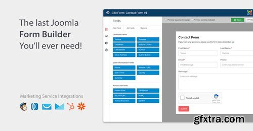 Convert Forms Pro v2.3.0 - Joomla Form Builder