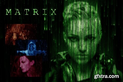 GraphicRiver - Matrix Code CS3+ Photoshop Action 17719727