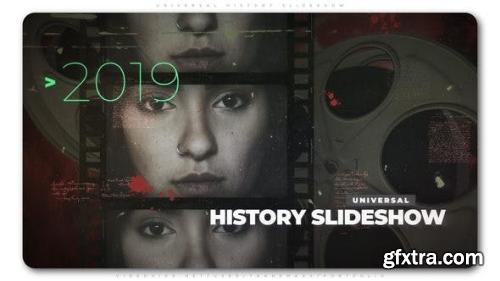 VideoHive Universal History Slideshow 23428120