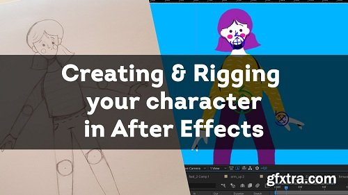 Creating and Rigging your character in After Effects