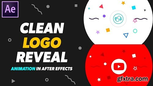 2D Clean Logo Reveal Animation in After Effects - Beginners & Intermediates