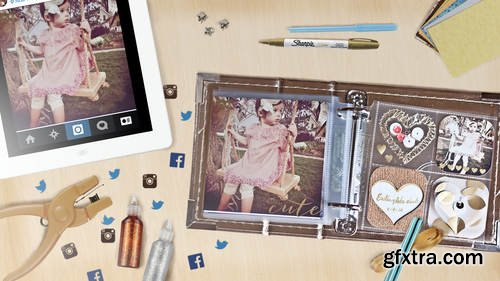 CreativeLive - From App to Archive: Social Media Scrapbooking