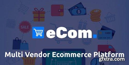 CodeCanyon - Ecom v1.0 - Multi Vendor Ecommerce Shopping Cart Platform - 23552612 - NULLED