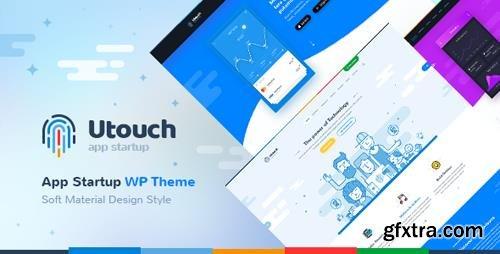 ThemeForest - Utouch Startup v2.7 - Multi-Purpose Business and Digital Technology WordPress Theme - 20654547