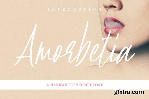 Amorbetia Handwritten Font
