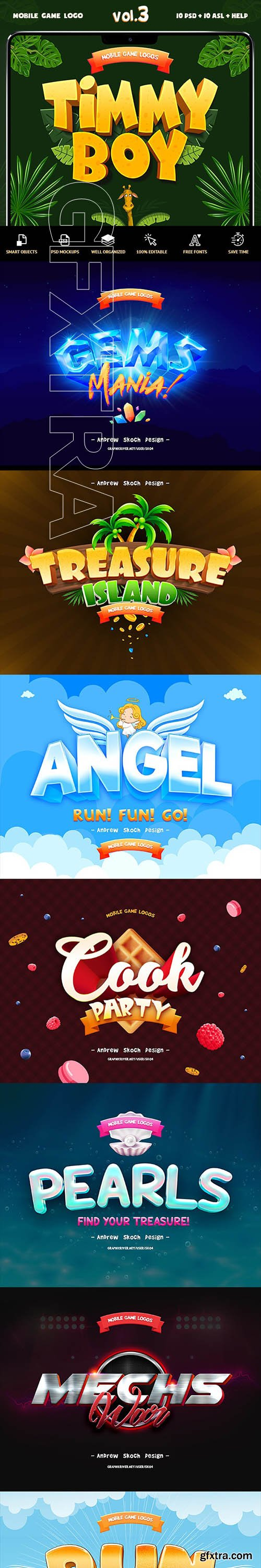 GraphicRiver - Game Titles Text Effects Vol.3 23831817