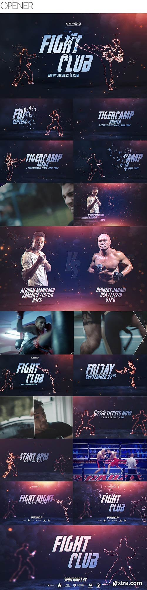 Videohive - Fight Club Broadcast Pack - 20617589