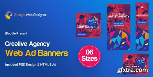 CodeCanyon - C50 - Creative, Startup Agency Banners HTML5 Ad - GWD & PSD - 23894953