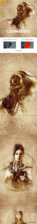 GraphicRiver - Leonardo CS4+ Photoshop Action 23743978