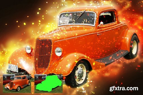 CreativeMarket - Galaxy Art Photoshop Action 3762608