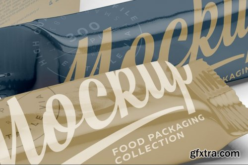 CreativeMarket - Display Box and Snack Bars Mockup 3780328