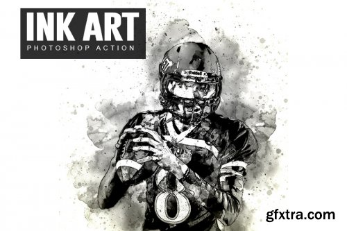 Ink Art Photoshop Actions
