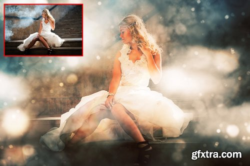 Magic Light Photoshop Action