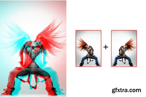 Double Exposure v3 Photoshop Action