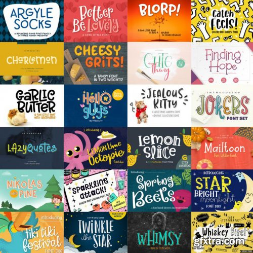 The Quirky Fonts Collection