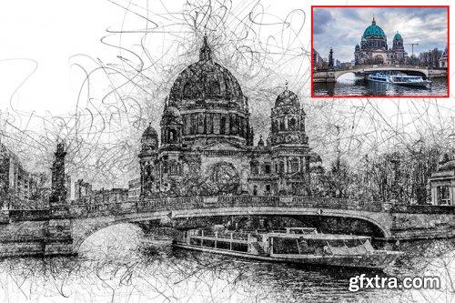Pencil Sketch V2 Photoshop Action