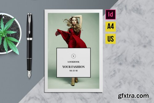 Fashion Lookbook Indesign Template