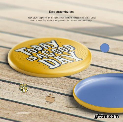 CreativeMarket - Frisbee Mockups Set 3776003