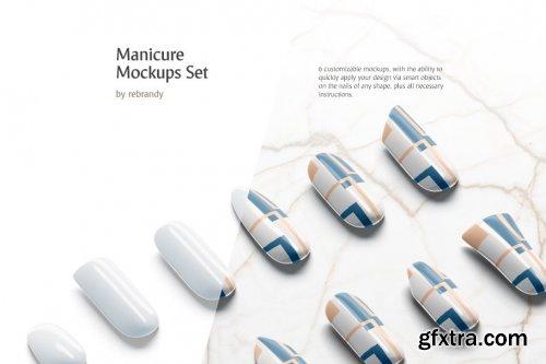 CreativeMarket - Manicure Mockups Set 3763024