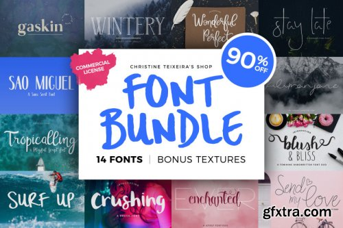 Christine Teixeira Font Bundle