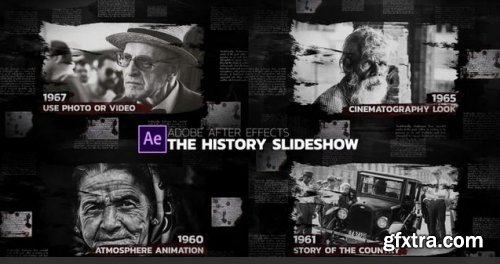 The History Slideshow - After Effects 237299