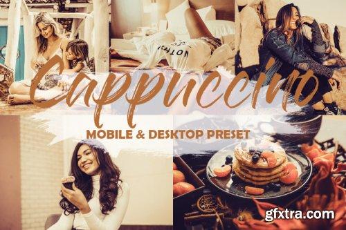 GraphicRiver - 4 Mobile and Desktop Lightroom Presets Cappuccino 23851385