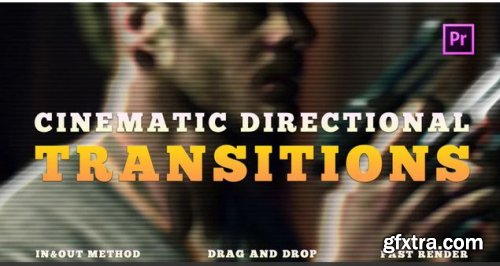 Cinematic Directional Transitions - Premiere Pro Templates 238521