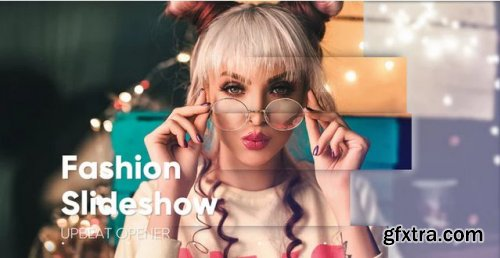 Upbeat Media Opener Slideshow - Premiere Pro Templates 238321