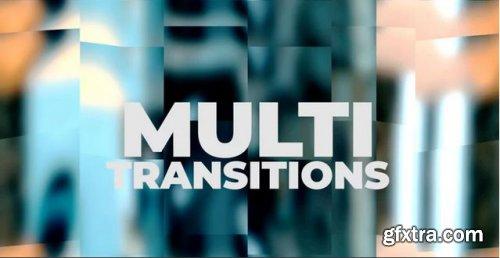 Multi Sliced Transitions - Premiere Pro Templates  238239