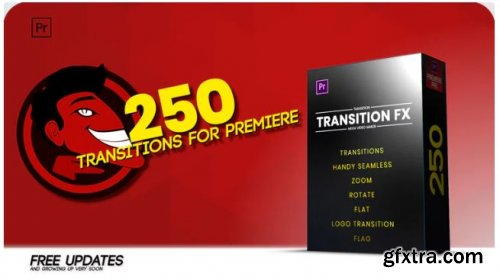 Handy Seamless Transitions - Premiere Pro Templates 237638