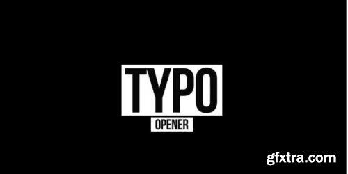 Creative Typography Opener - Premiere Pro Templates 239486