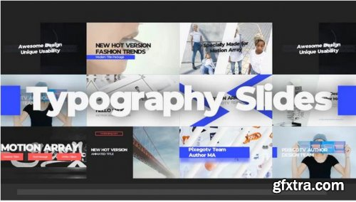 Typography Slides - Premiere Pro Templates 239032