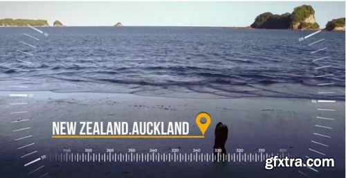 Dynamic Travel Slideshow - Premiere Pro Templates 239019