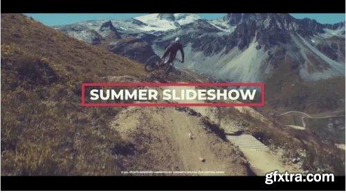 Summer Upbeat Slideshow - Premiere Pro Templates 238443