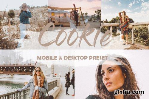 4 Mobile and Desktop Lightroom Presets Cookie