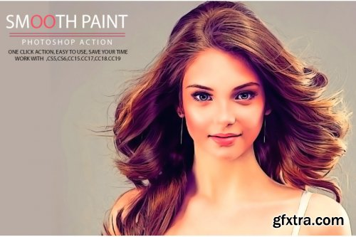 Smooth Paint Photoshop Action