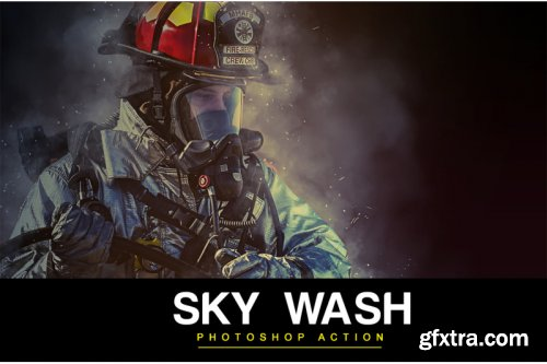 Sky Wash Photoshop Action
