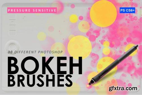 CreativeMarket - 30 Bokeh Photoshop Brushes 3799814