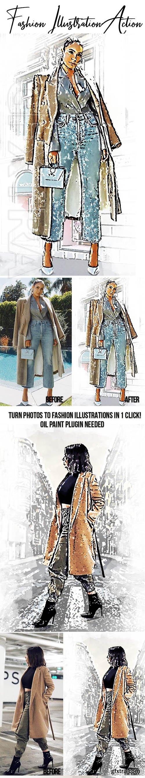GraphicRiver - Fashion Illustration Effect 23766073