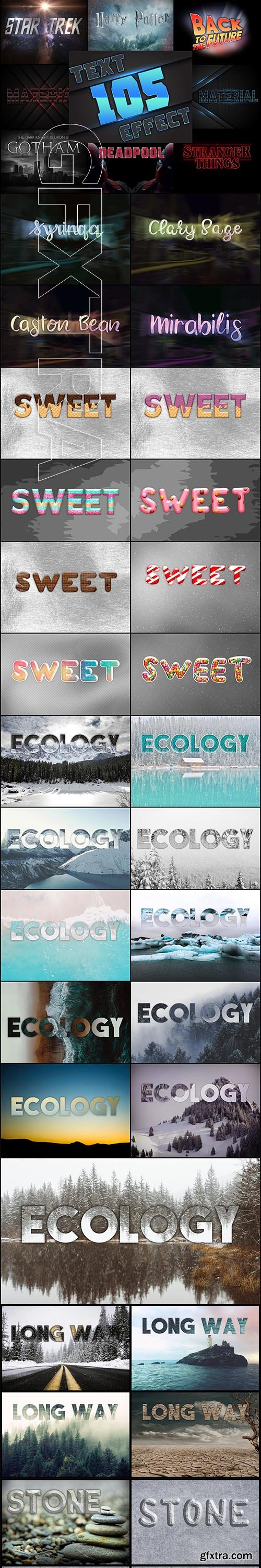 CreativeMarket - 105 Professional Text Effects 3816102