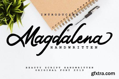 Magdalena Beauty Script Handwritten