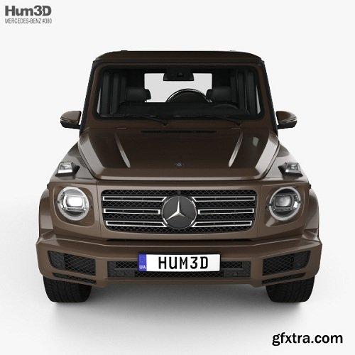 Mercedes-Benz G-class (W463) 2019 3D model