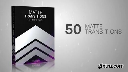 Pond5 - 50 Matte Transitions Ultimate Pack - 088862704