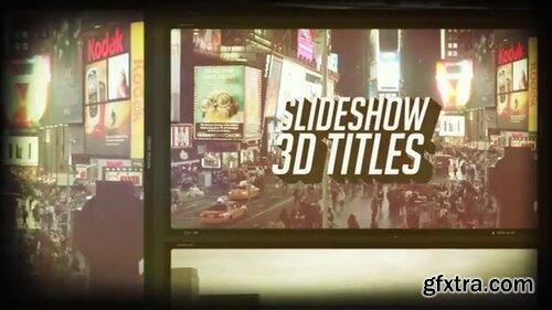 Pond5 - Slides 3D Titles - 088911279