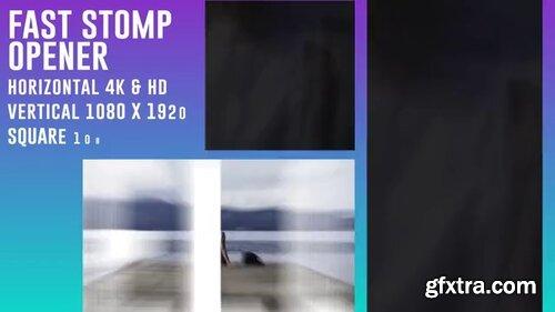 Pond5 - Fast Stomp Intro Opener Instagram - 088927542