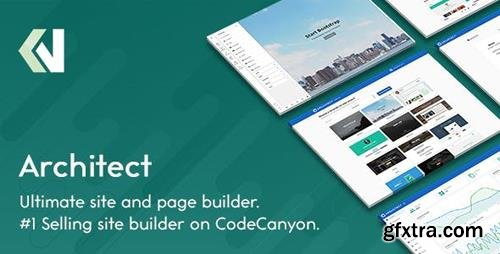 ThemeForest - Architect v2.1.5 - HTML and Site Builder - 9957269