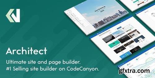 ThemeForest - Architect v2.1.5 - HTML and Site Builder - 9957269