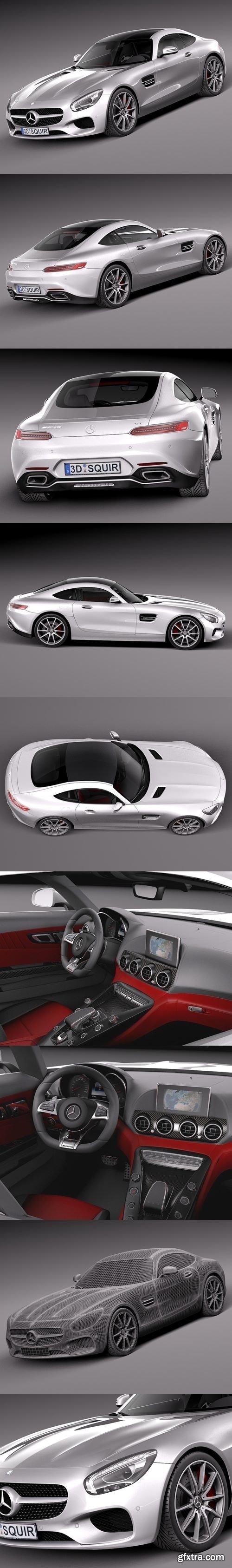 Mercedes Benz AMG GT 2016 3D Model