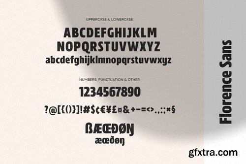 MADE Florence Font Family